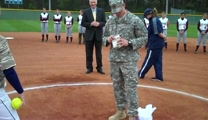 Soldier Knocks Surprise Proposal Out of the Park - Aww