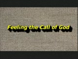 Randy Winemiller - Feeling the Call of God
