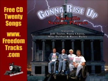 Free CD ~ GONNA RISE UP ~ Nashville Session Players ~ www.FreedomTracks.com