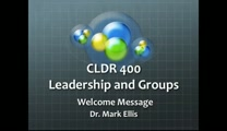 CLDR 400 Leadership and Groups