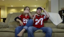 WIFE WATCHES FOOTBALL (Modern Marriage Moments)
