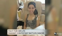 Beauty Pageant Contestant Doesn't Let Cancer Stop her from Competing!