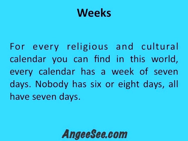 The Biblical Calendar - God's Calendar in the Bible