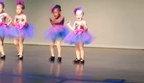 Preschooler Dancer Taps Her Way into Your Heart -- So Cute!