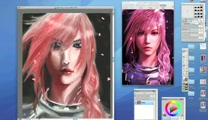 Lightning Final Fantasy XIII-2 speed draw
