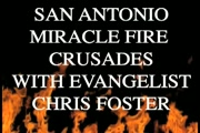 CHRIS FOSTER MINISTRIES / EVANGELIST CHRIS FOSTER / IGNITE THE FIRE TOUR /