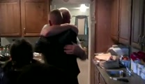 Marine Surprises Mom on Thanksgiving