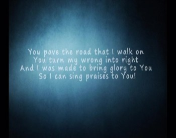 You are the Light by Relu Leleu (Lyrics Video)