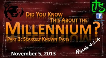 Did You Know This About the Millennium? Part 3