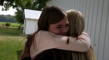 Watch When the Two Girls Learned they Would Get to Meet One Another