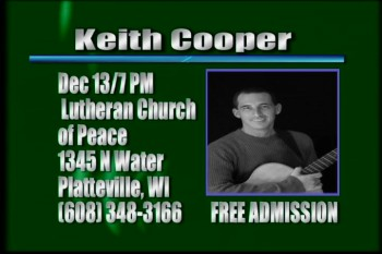Keith Cooper Concert