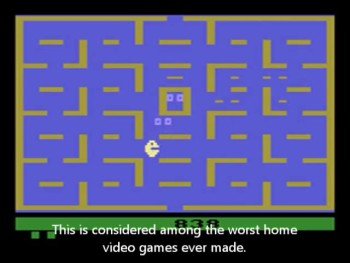 The Hardship of Atari 2600 Pac-Man