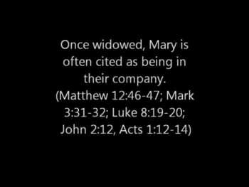 Following the Biblical Example of Mary