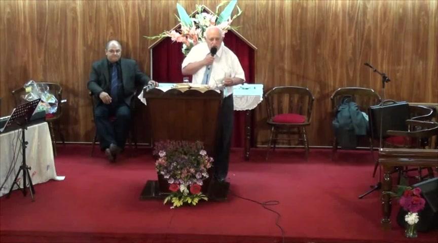 Predicando lo que Jesus nos revela en su Palabra. Pastor Walter Garcia. 20-10-2013
