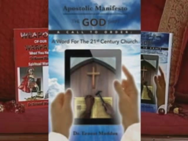 Apostolic Manifesto The Book Trailer- By Dr. Ernest Maddox