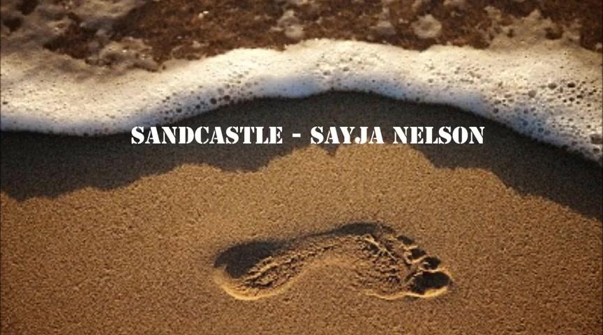 Sandcastle by Sayja Nelson