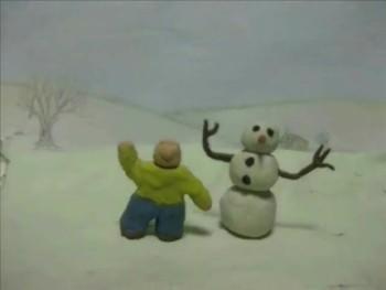 Benny Builds A Snowman