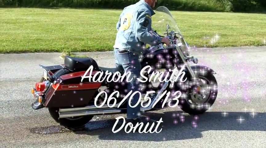 Motorcycle Donut on a 2003 LC 1500