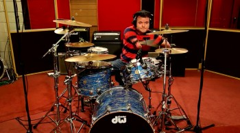 Disabled Drummer Pursues His Dreams--Wow!