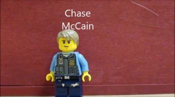 Bank Robbery FAIL!!!; Lego animation