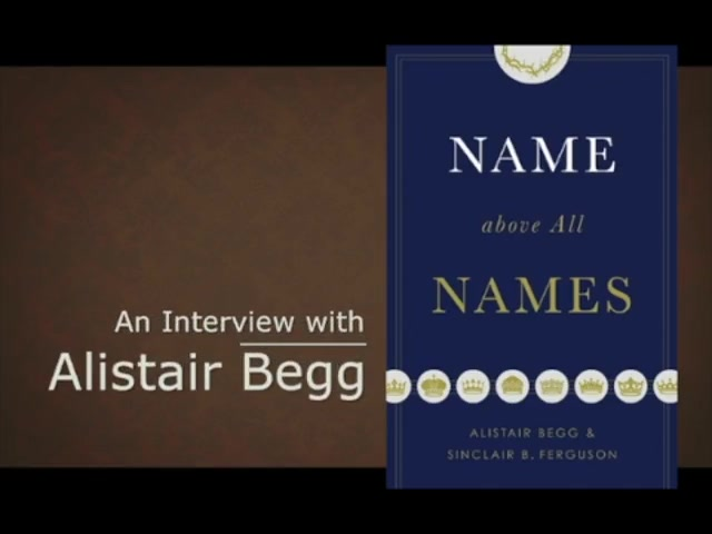 Alistair Begg's 2-Minute Summary of Jesus through the Bible