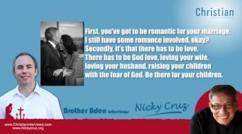 Nicky Cruz Interview - ChristianInterviews.com