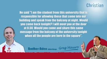 Greg Mauro Interview - ChristianInterviews.com