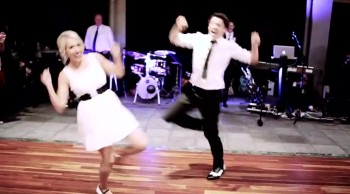 You'll Love How This Unique Couple Chose to Dance on Their Wedd