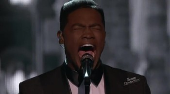 A Young Man's Performance of Hallelujah