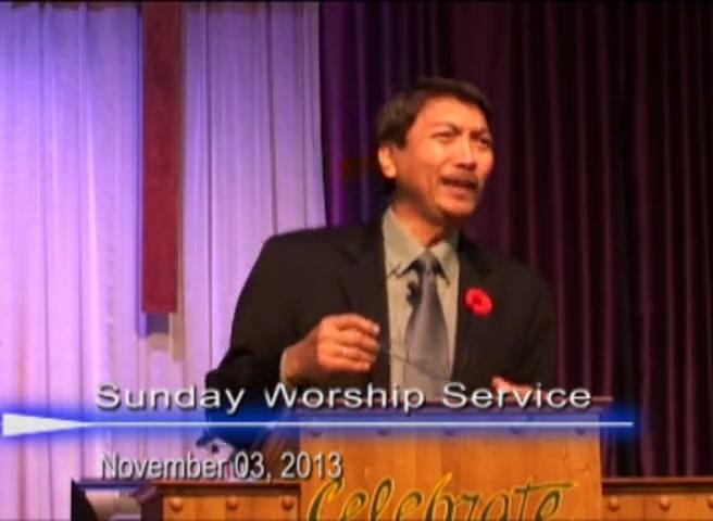 Pastor Preaching - November 03, 2013