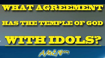 Idols In The Temple of God?