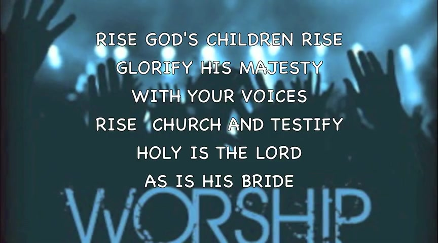 God's Children Rise by Relu Leleu - DEMO SONG (with Lyrics) HD