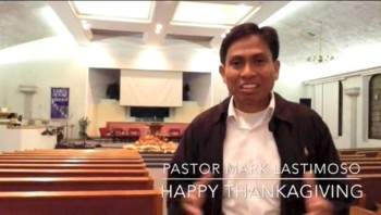 Mark Lastimoso:Happy Thanksgiving