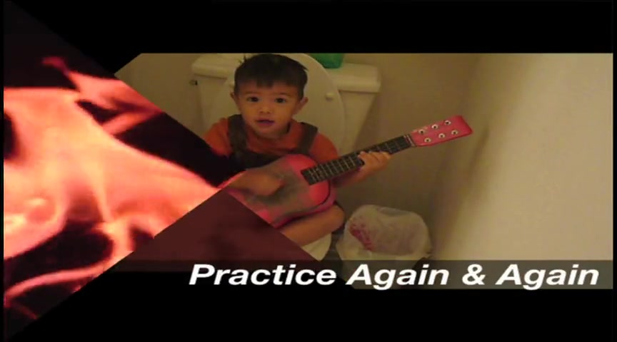 Practice (This is how real guitar practice is)
