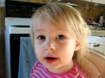 A Little Girl Sings the Lord's Prayer... and It's Just So Sweet