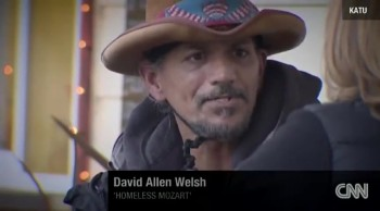 A Homeless Man's Musical Gift Moves Listeners to Tears
