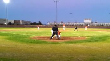 Angel Whisper? at Baseball Game