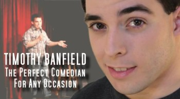Christian Comedian Timothy Banfield