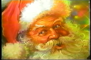 Time-lapse Painting of Santa Claus