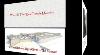 Where The Temple Mount Isn't