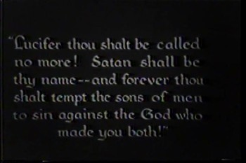 The War in Heaven Sequence (1927)