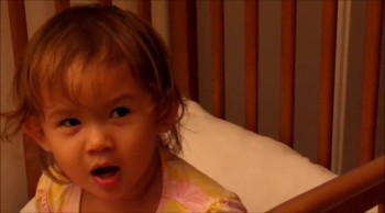 One-Year-Old Sings 'O Holy Night'