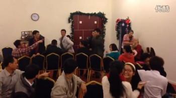2013.12.25 Xmas party in Panyu Guangzhou
