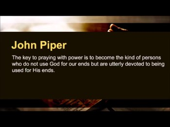 "William Tiptaft: ""When the Lord finds his rod, his people find their knees."" (The Prayer Motivator Minute #448)"