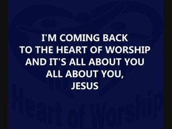 Heart of Worship - no vocals