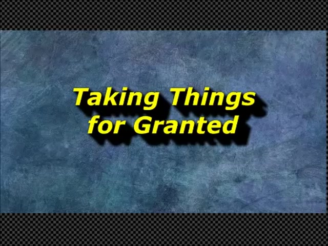 Randy Winemiller - Taking Things for Granted