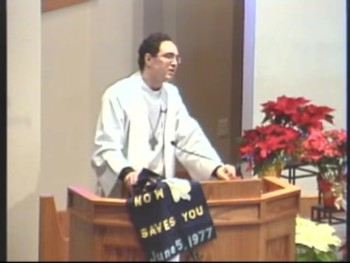 "Pastor Jon Dunbar: ""Baptism Saves You"""