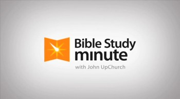 Bible Study Minute: Bible Basics