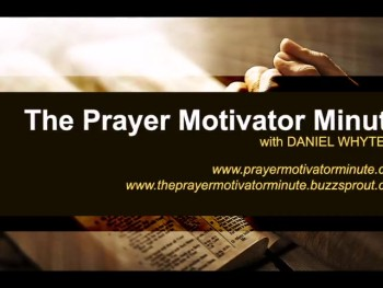 "George Macdonald said: ""Anything large enough for a wish to light upon, is large enough to hang a prayer upon."" (The Prayer Motivator Minute #443)"