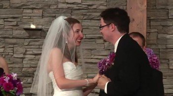 Loving Couple Has the World's Best Wedding Exit - Don't Stop Believin' in Love!